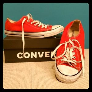 Converse Red 10